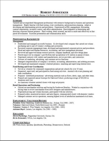 Unit clerk resume