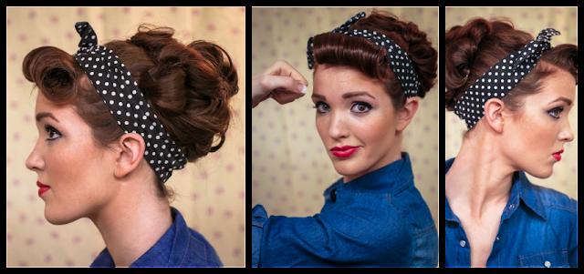 Как делать прически с повязками на голову